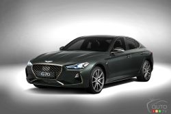 The all-new Genesis G70 is a premium sports sedan with flair