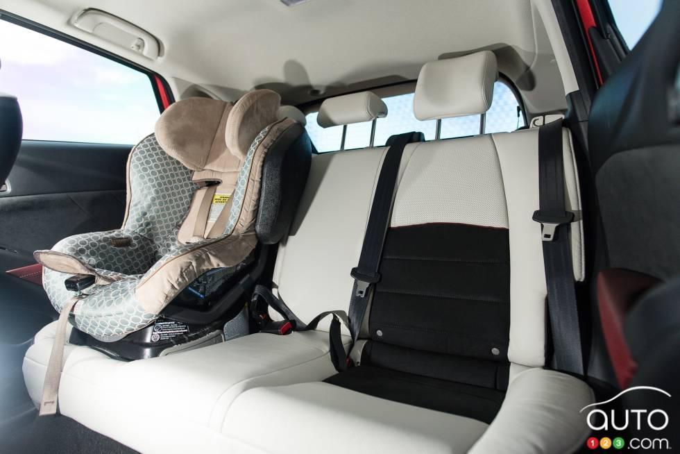 2016 Mazda CX-3 GT rear seats