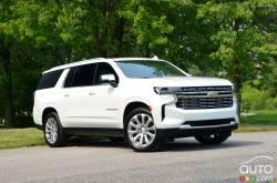 Nous conduisons le Chevrolet Suburban Duramax 2021