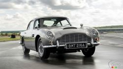 Introducing the Aston Martin DB5 Goldfinger Continuation