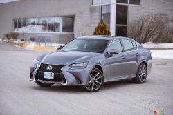 Picture gallery of the 2016 Lexus GS 350 AWD F Sport.