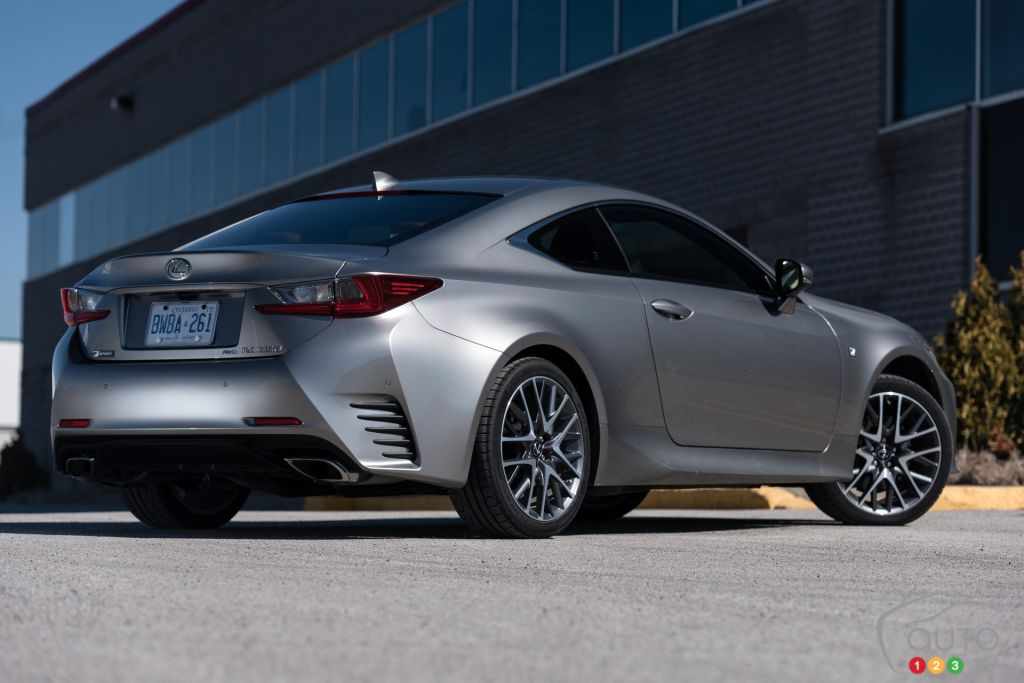 2015 lexus rc 350 awd f sport review editor 39 s review car. Black Bedroom Furniture Sets. Home Design Ideas
