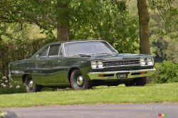 Here's the classic 1968 Plymouth Road Runner