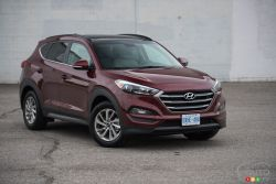 The all-new 2016 Hyundai Tucson goes beyond what you would expect in a CUV with an ingenious design that breaks away from convention. Re-engineered for excitement and versatility, the 2016 Tucson delivers sporty driving dynamics and a completely redesigned platform that maximizes interior space and is filled with advanced safety technology.