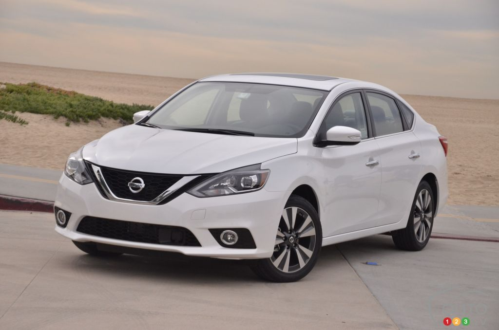 2019 Nissan Sentra >> 2016 Nissan Sentra First Impressions | Car Reviews | Auto123