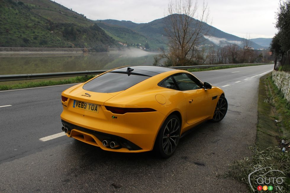 We drive the 2021 Jaguar F-Type