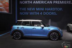 MINI presented their 2016 4-door model at the 2014 Los Angeles auto show and we have a picture gallery.