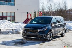 Simply put, the Sedona is the only minivan currently coming to North America from South Korea.