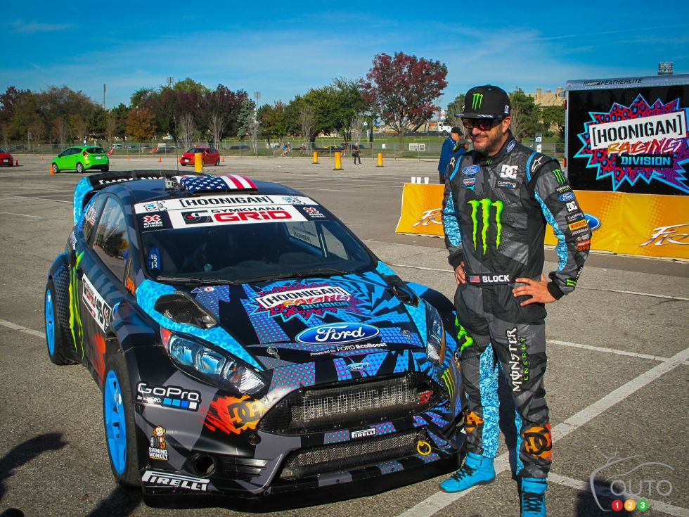 Ken Block And The 2014 Ford Focus St Pictures On Auto123 Tv