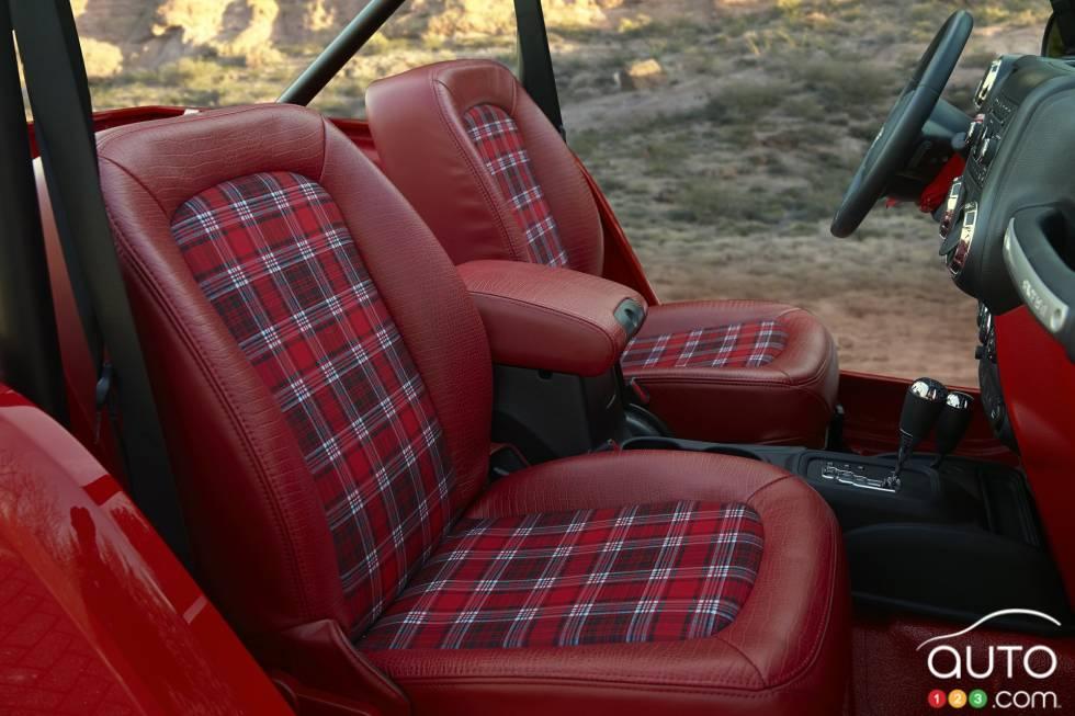 Jeep Shortcut Concept front seats