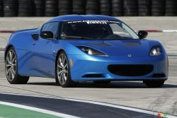 A real road and track car - The Evora is the daily driver in the brand's line-up. It doesn't have the go-kart feel of an Exige, but offers ride comfort when you're not on a closed circuit. If you don't ever bring it to a track, however, you'd really be missing something.