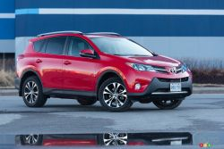 The RAV4 50th Anniversary Special Edition is another great reason to celebrate 50 years of Toyota in Canada. Based on the AWD XLE, this RAV4 also boasts exclusive wheels, interior accents, and standard navigation system. The fun starts the moment you get behind the wheel.