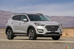 The new 2019 Hyundai Tucson Limited