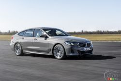 Voici la BMW Série 6 GT 2021