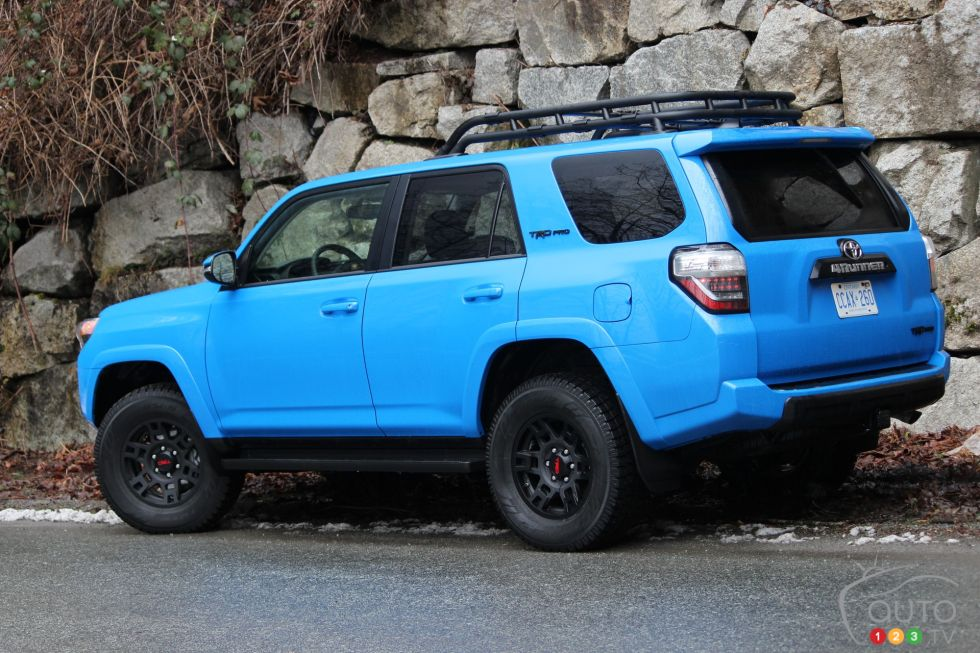 We drive the 2019 Toyota 4Runner TRD Pro