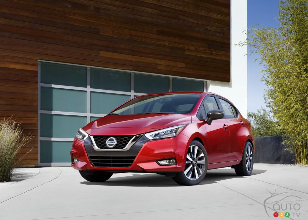 Introducing the 2020 Nissan Versa sedan