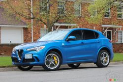 We drive the 2019 Alfa Romeo Stelvio Quadrifoglio