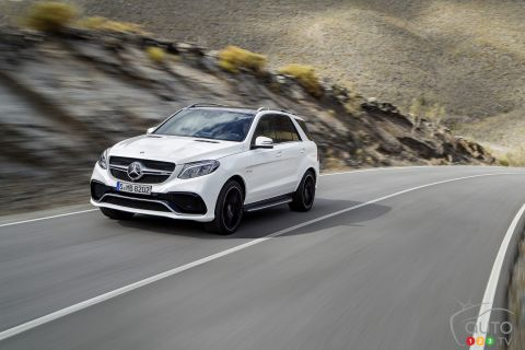 Photos de la Mercedes-Benz GLE 2016