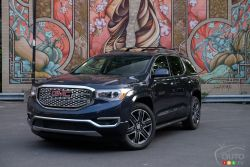 The 2018 GMC Acadia Denali
