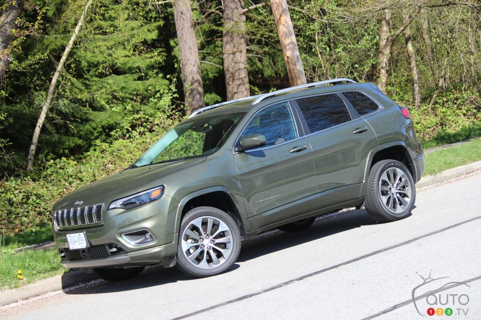 We drive the 2019 Jeep Cherokee Overland