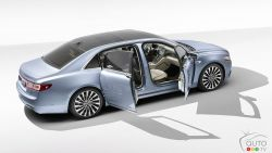Introducing the Lincoln Continental Coach Door Edition