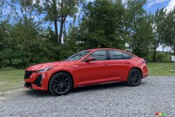 Nous conduisons la Cadillac CT5-V 2020