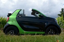 The new all-electric fortwo cabrio!