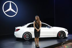 Mercedes-Benz presented their 2016 Mercedes-AMG C 63 at the 2014 Los Angeles auto show and of course we have a picture gallery.