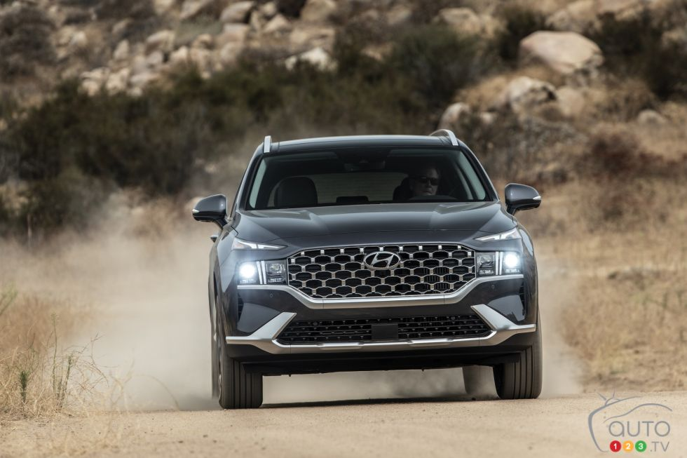 We drive the 2021 Hyundai Santa Fe