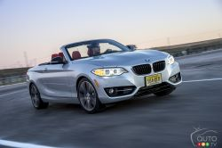 BMW has announced that the new 2015 2 Series Cabriolet will go on sale across Canada in late February with MSRPs starting at $45,200 and $51,900 for the 228i xDrive Cabriolet and M235i Cabriolet, respectively.