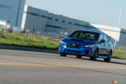 The 2016 WRX STI, the latest in a long line of legendary road cars with serious race credentials.