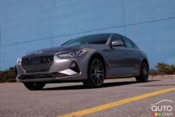 We drive the 2020 Genesis G70