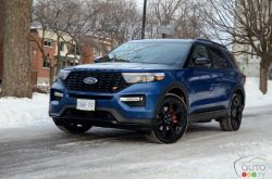 We drive the 2020 Ford Explorer ST