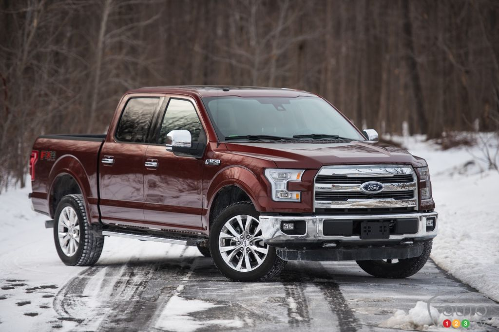 The 2016 Ford F-150 SuperCrew LARIAT 4x4 is at it again | Car News ...