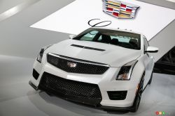 The all-new 2016 Cadillac ATS-V was unveiled at the 2014 Los Angeles autoshow. It will be available in coupe and sedan body styles.