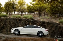 New E-Class Coupe appeals equally to the heart and mind