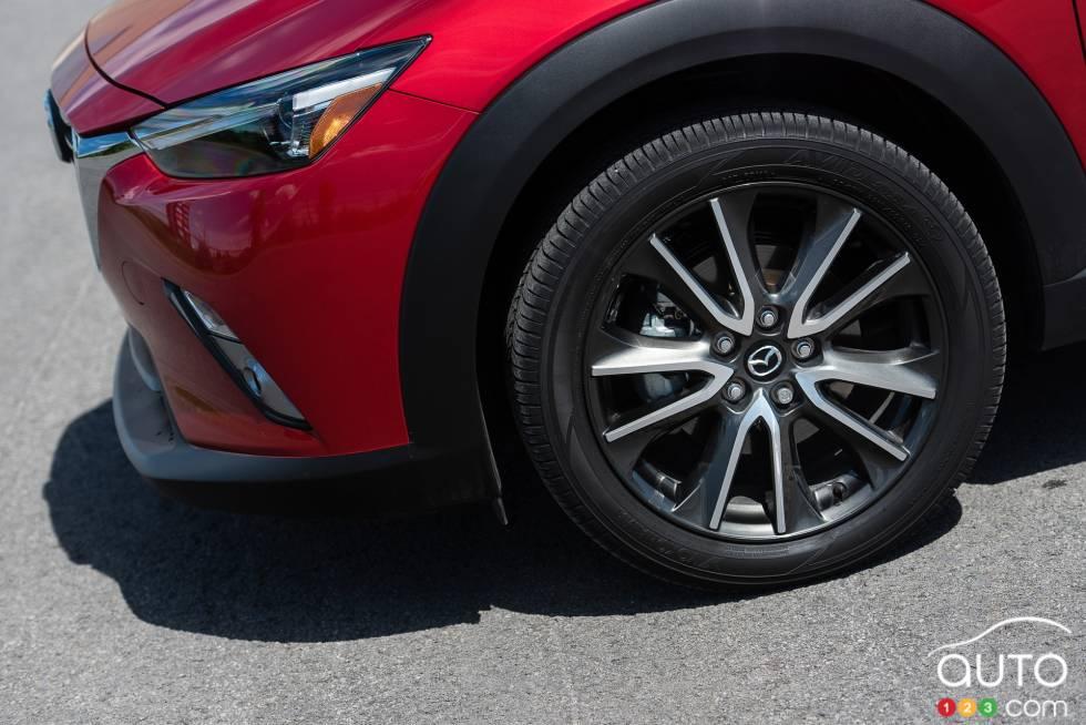 2016 Mazda CX-3 GT wheel