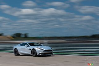 Aston Martin experience  pictures at ICAR