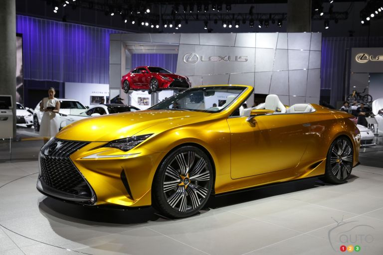 2014 Lexus LF-C2 concept pictures from the Los Angeles auto show