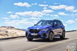 Voici le BMW X5 M 2020