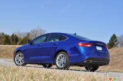 The redesigned 2015 Chrysler 200, unveiled in Detroit, will go on sale across Canada in the second quarter of 2014 starting at $22,495, the company announced. It will become the industry's first midsize sedan with a standard 9-speed automatic transmission. The 2015 Chrysler 200 offers two different engines including a 184-horsepower 2.4L 4-cylinder and a 295-horsepower 3.6L Pentastar V6. It's reportedly 19% more fuel-efficient than its predecessor, with an expected highway rating of 5.7L/100km.