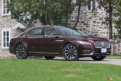 2017 Lincoln Continental: Return of the American Queen