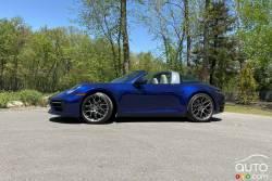 Nous conduisons la Porsche 911 Targa 4 2021