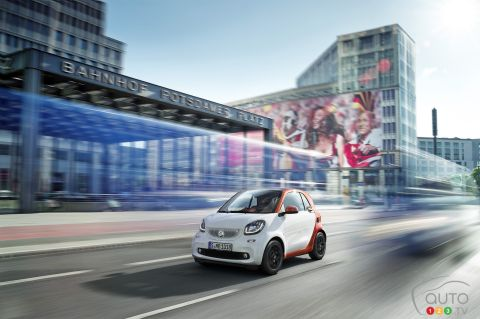 2016 Smart Fortwo pictures