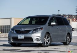 The 2015 Toyota Sienna does just about everything a family needs it to do. A spacious interior, that can seat 7 or 8 passengers, complements a stylish exterior design. It's also the only vehicle in the segment with available AWD.