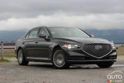 We drive the 2020 Genesis G90