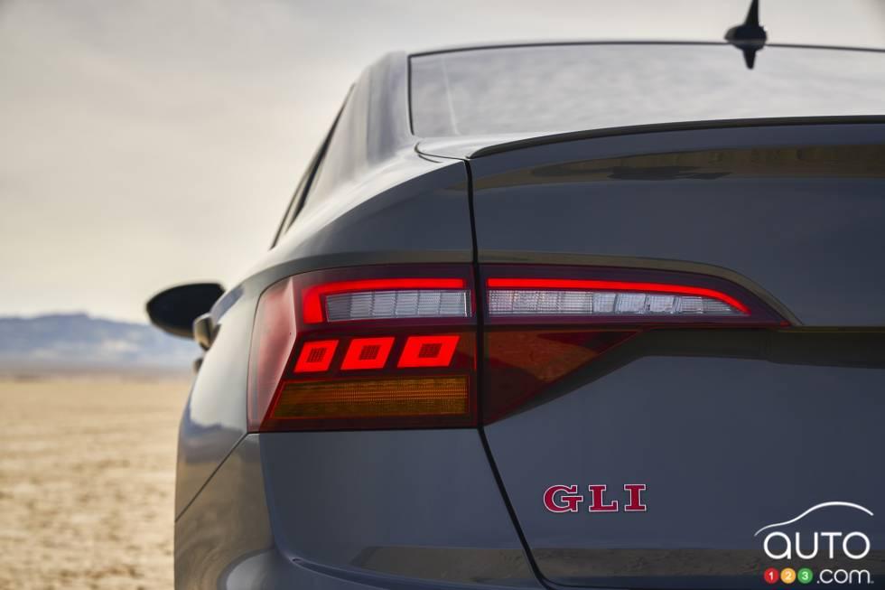 2019 Volkswagen Jetta GLI debuts at the Chicago Auto Show: Rear headlight