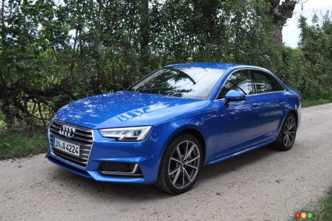 2017 Audi A4 pictures