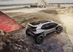 Introducing the Audi AI:Trail quattro concept