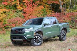 We drive the 2022 Nissan Frontier